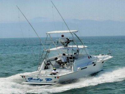 8h boat fishing from Marina de la Cruz
