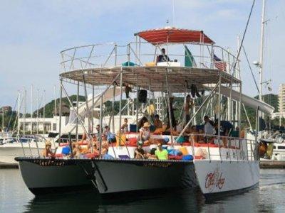 Paseo en catamaran Riviera Nayarit