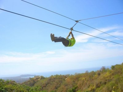 Ziplining in Punta Mita, Nayarit