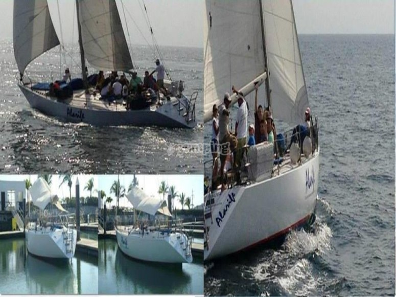 Boat trip in Riviera Nayarit.