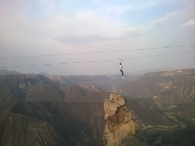Biking + zip line + hiking, Peña del Aire