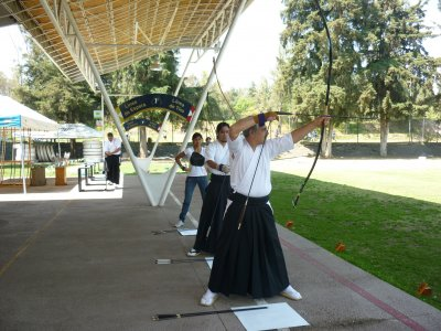Kyudo Initation Course,Lev 1. Mexico City