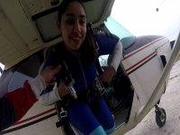 SSaltando en paracaídas