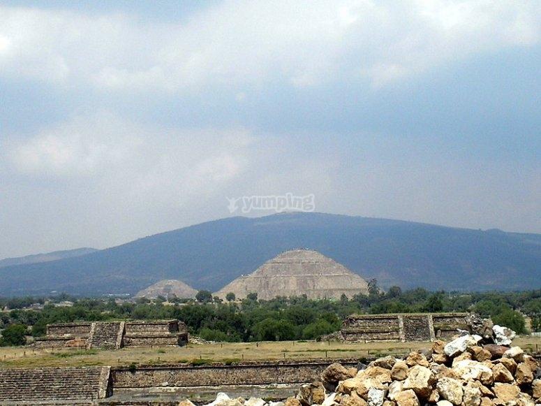 Ruins of Teotihuacán