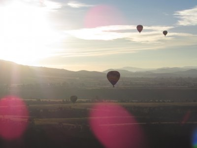 Hot Air Balloon Ride + 1 Night Stay