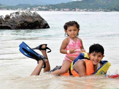 Avistamiento ballena+snorkel isla Coral, Tepic niñ