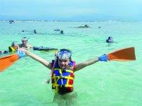 Tour coral island kids rate departing Guayabitos