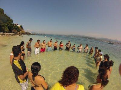 Tour snorkel Isla del Coral salida Nuevo Vallarta
