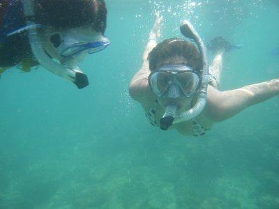 Tour Isla del Coral niños salida Nuevo Vallarta