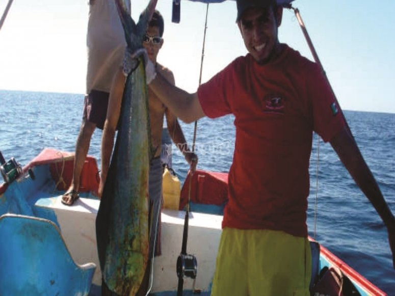Pesca deportivca a mar abierto
