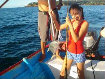 Pesca para niños Playa Platanitos salida Tepic