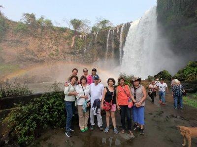 Tour por cascadas, isla y costa de los Tuxtlas 6h