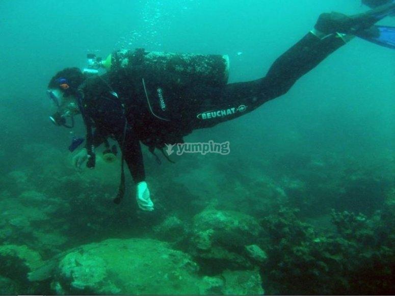 scuba diving Veracruz