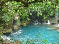 Cascadas y cenotes