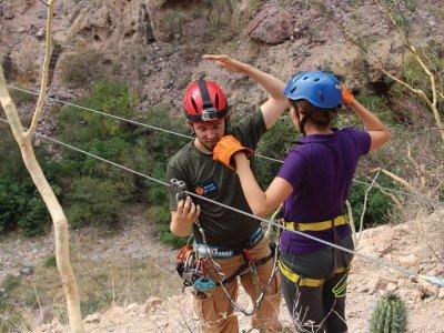 Circuito tirolesa y puente colgante, Sonora