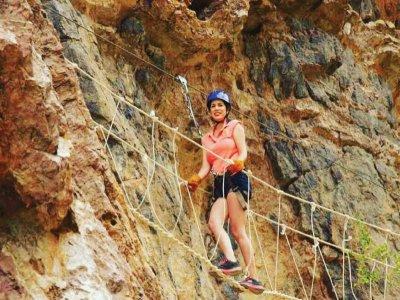 Hanging bridge + zip wire circuit, Sonora