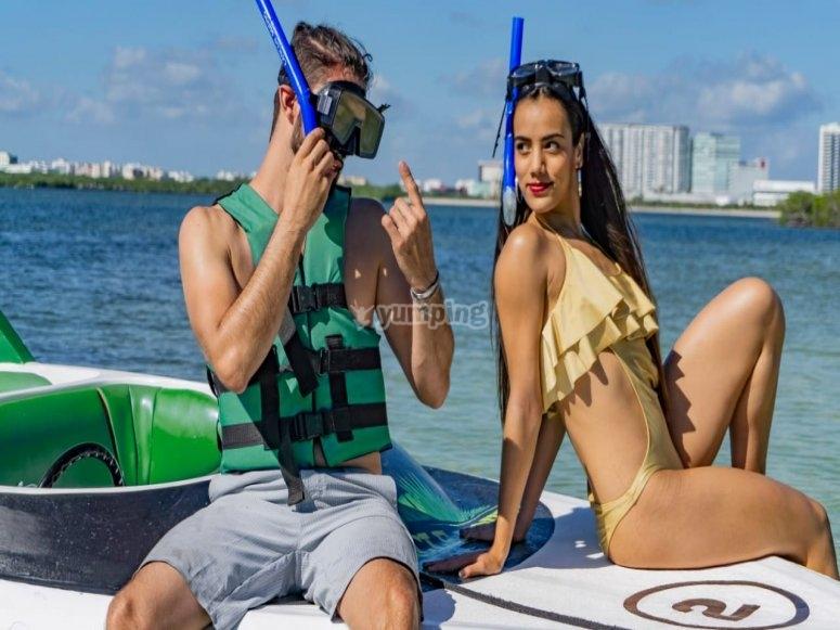 Snorkel en Arrecife Maya en Cancún