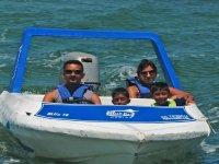 Paseo en bote alta velocidad precio niño, Cancún