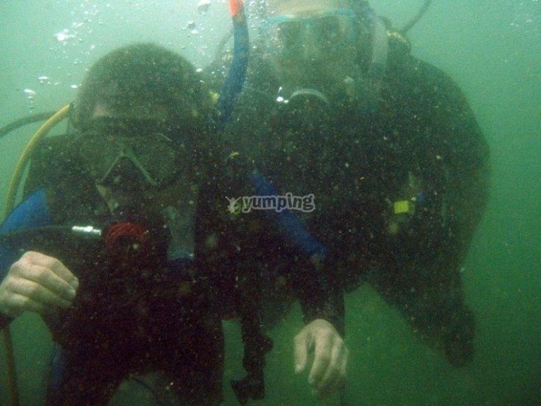 Scuba dive in Acapulco