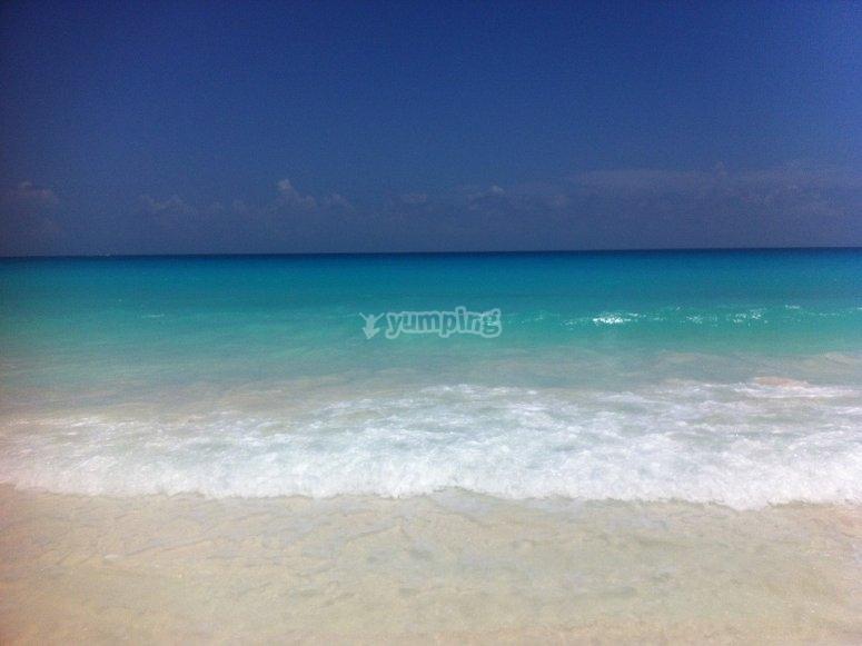Vista inolvidable en Isla Mujeres