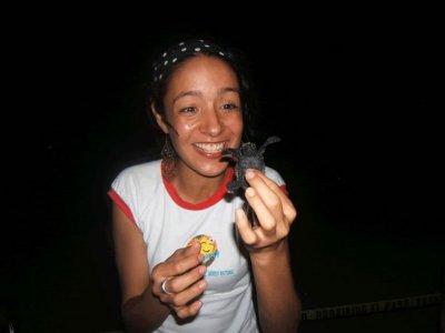 Libera tortugas marinas precio niño Nuevo Vallarta