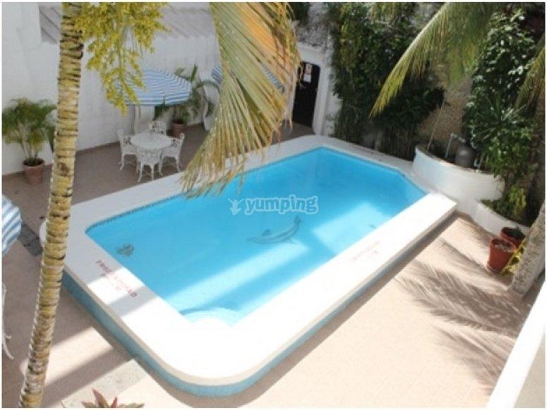 Instalaciones del hotel en cancun