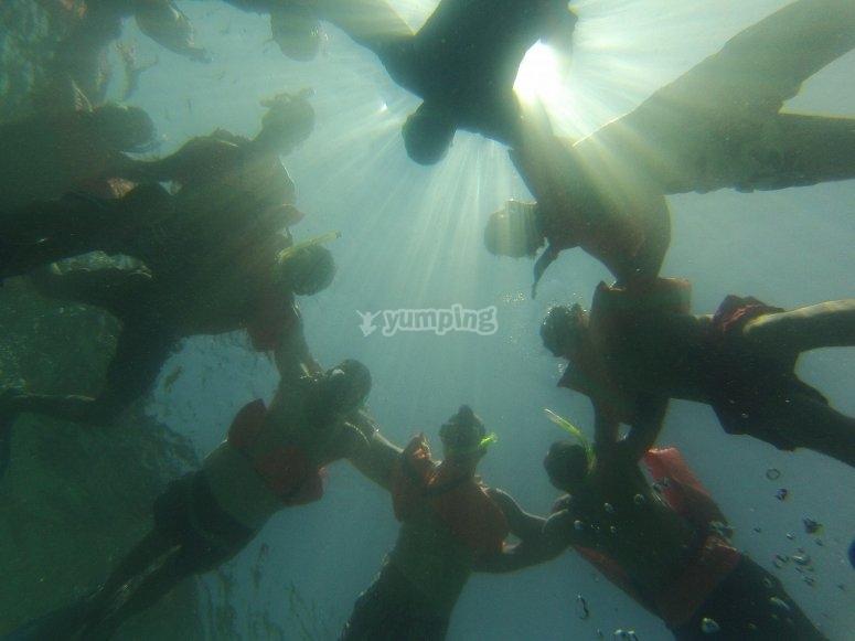 actividades subacuaticas