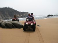 ATV tours on the beach