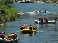 Rafting excursion