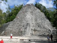 Recorrido zona arqueológica Cobá Cancún