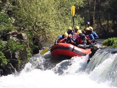 Rafting nivel I en Huatulco 2 horas