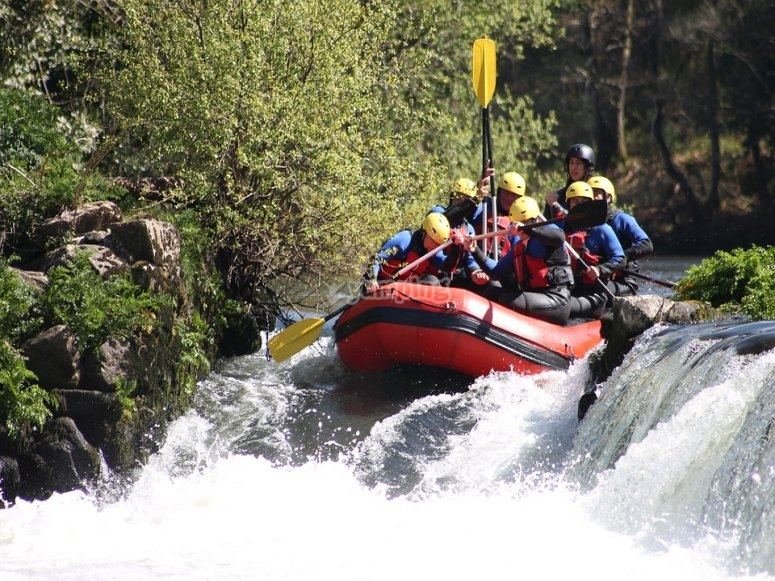 Rafting nivel iii