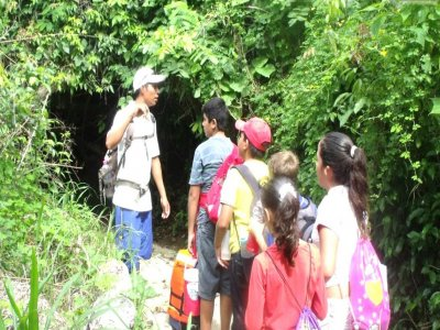 Schoolchild guided visit  in Huatulco