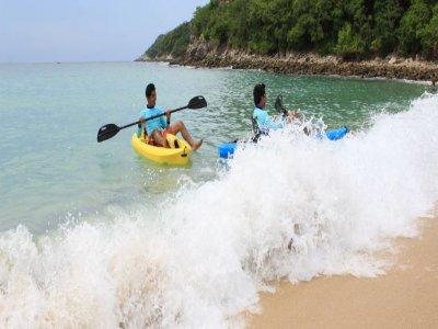 Kayak y snorkel en las bahías de Huatulco
