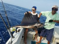 4h sport fishing journey in Huatulco