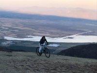 Montañas y paisajes en bicicleta