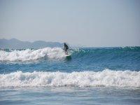 Olas en Baja