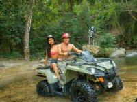 Enjoying the ATV all terrain