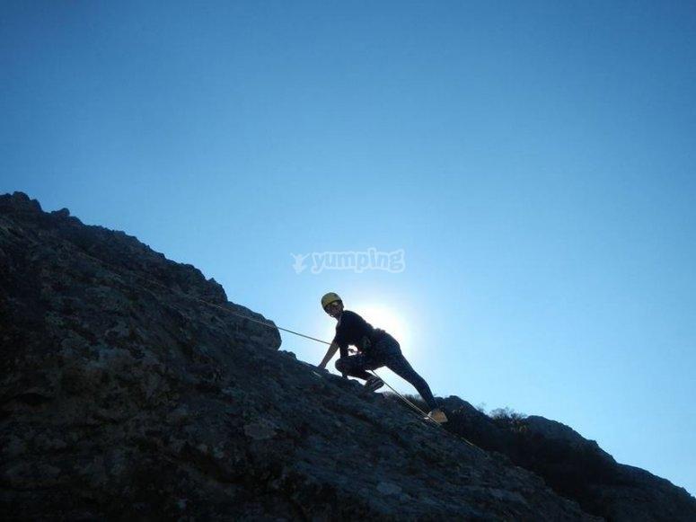 Climbing moment