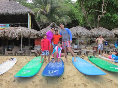 Private Surf lessons in Puerto Escondido.