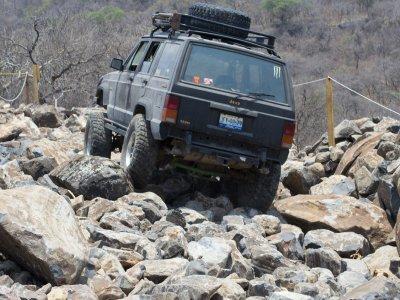 Entrada al Parque de obstáculos Fin de semana, GDL