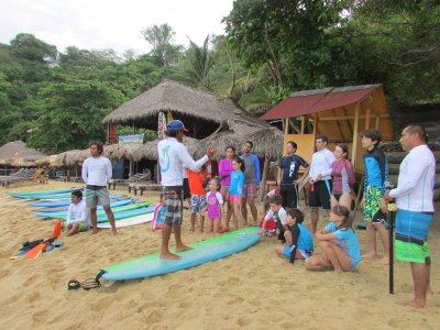 Surf classes, pictures and video. Puerto Escondido