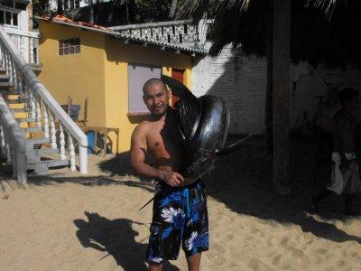 Pesca deportiva en Puerto Escondido