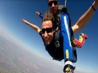 Parachuting jump Teques from Veracruz 1,700 feet