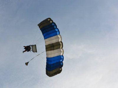 Parachute jump from Xalapa with tour