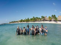 Snorkel con la familia
