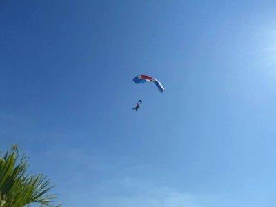 Parachuting jump trip in Veracruz