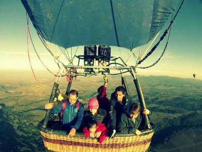 Private Balloon Flight Children Offer, Tlaxcala