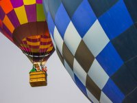 A great hot air balloon ride