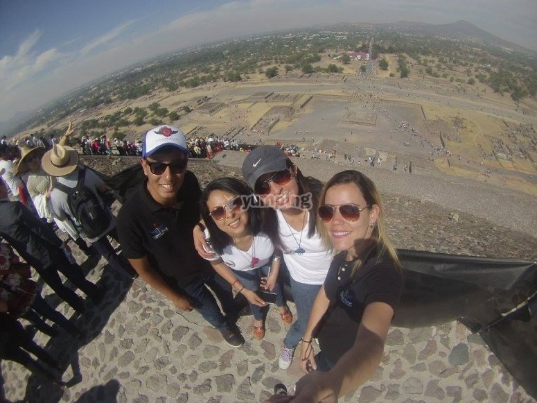 Guided visit to Teotihuacan